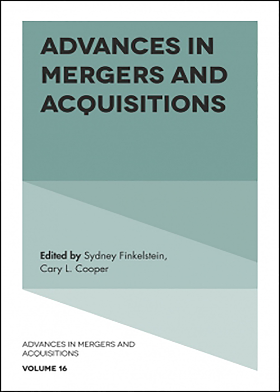 Advances In Mergers And Acquisitions (Hardback)